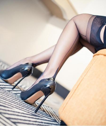 Sublimez vos jambes avec un bas couture de qualité à petit prix