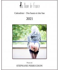 Achetez le calendrier de la dame de France en bas nylon, bas couture et porte-jarretelles 2021