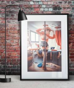 Poster personnalisé bas nylon