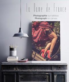 Demandez votre photo de La Dame de France. Impression sur tableau pour décorer votre bureau ou votre salon